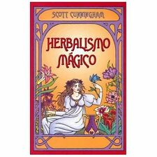 Herbalismo Mágico by Scott Cunningham (2003, Paperback)