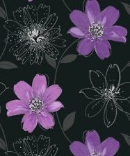 Vinyl Floral Wallpaper Rolls