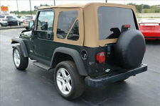 Spice 97-06 Jeep Wrangler Replacement Soft Top + Front Upper Skins