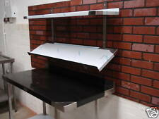 STAINLESS STEEL SALAD / COFFEE / PIZZA CONDIMENT SHELF