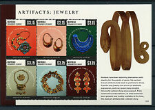 Mayreau Grenadines St Vincent 2015 MNH Artifacts Jewelry 6v M/S Gau Talisman