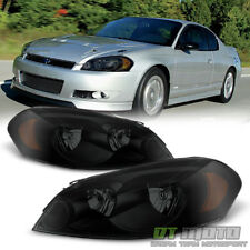 Black Smoke Headlamps Replacement 2006 2017 Chevy Impala Headlights Left Right Fits 2008 Chevrolet