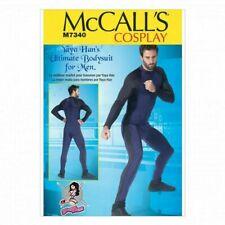 McCall Sewing Pattern 7340 (38-44)(46-52) Mens Bodysuit Unitard Cosplay Costume