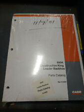 Case 580k Construction King Loader Backhoe Parts Catalog Bur 8 3462