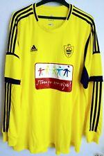 More details for *rare* bnwt anzhi makhachkala adidas home football shirt mens 3xl zhirkov russia