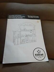 KidKraft My Dreamy Dollhouse assembly instruction manual