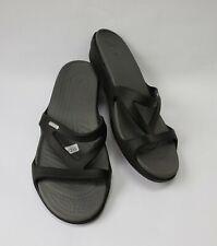 Crocs Womens Shoes Sandals Black Size US 11