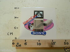 STICKER,DECAL SONY WATCHCAM SECURITY SYSTEM WITH MICROPHONE