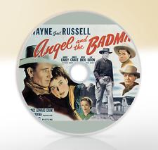 Angel And The Badman (1947) DVD Classic Western Movie / Film John Wayne