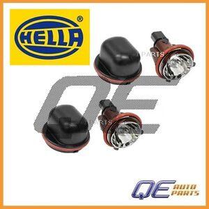 2 Headlight Halo Ring Bulb with Socket 63126916097 Hella  For BMW E53 E65 E66 X5