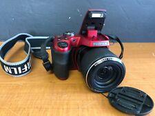 Fujifilm FinePix S9450W 16.0MP Digital Camera Optical Zoom: 50x - Red