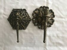 1977 Syroco and 1976 Burwood Wall Sconce Candle Holders Usa Homco Home Interior