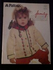 Patons Family Crochet, Crocheting Instruction Book