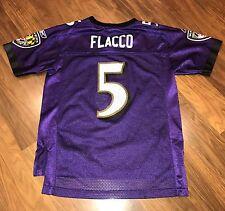 joe flacco youth jersey purple