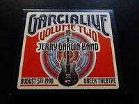 Jerry Garcia Live Volume 2 Two Greek Theatre 8/5/1990 CA JGB 2 CD Grateful Dead