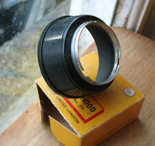 Original Kodak 37mm PUSH FIT Slip On Lens Hood & Original Caja desgastada