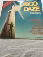 Various - Disco Daze - 16 Giant Disco Hits - Ronco - RTL 2056 B - UK 1981 Record