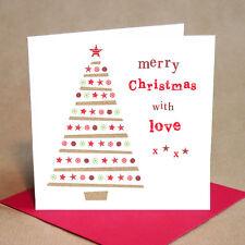Christmas Tree Christmas Cards Pack of 6 (Small)