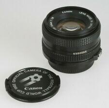 Canon FD 1,8/50mm Objektiv #5502005