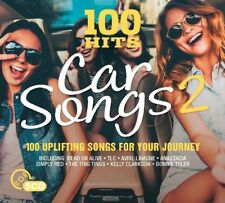 100 HITS - CAR SONGS 2 (JENNIFER LOPEZ/TOTO/AVRIL LAVIGNE/SANTANA/+) 5 CD NEUF