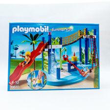 PLAYMOBIL® 6670 Summer Fun Wasserspielplatz Wellenrutsche 101 Teile NEU / OVP