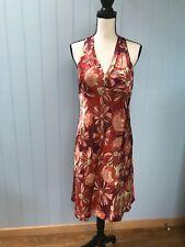 Ann Taylor Loft Petites Back Criss Cross Sleeveless Side Zip Lined Dress10P