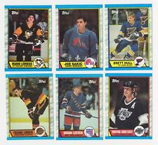 1989-90 TOPPS HOCKEY COMPLETE SET (1-198) - NMT