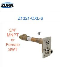 "Z1321-CXL-6 ZURN Non-Freeze 6"" Faucet Key Hydrant 3/4"" MNPT Female Copper Sweat"