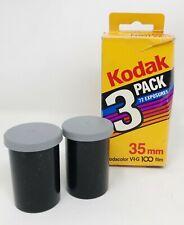 2 Rolls Kodak Kodacolor 35 mm VR-G 100 Print Film Color 48 Exp Total 08/1988 NOS