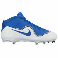 Nike Force Air Trout 4 Pro Metal Baseball Cleats Blue/White 917920-444 7.5 Spike