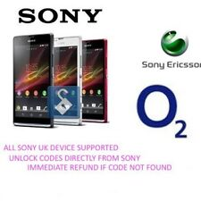UNLOCK CODE FOR SONY XPERIA T SL NEO L ACRO S ALL SONY PHONES O2 UK