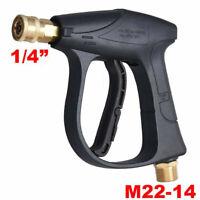 High Pressure Power Washer Gun Water Spray Wand Brass Fitting 3000 PSI Car Clean