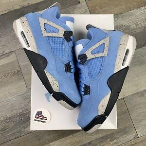 Nike Air Jordan 4 Retro University Blue CT8527-400 Size 8