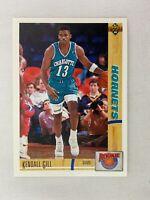 Kendall Gill Charlotte Hornets 1991 Upper Deck Basketball Card R3