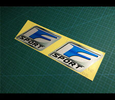 2 Pics Lexus F SPORT IS250 IS350 performance JDM Car Reflective decal sticker #2