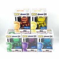 Funko Pop! Chrome Hulk 499 Marvel Avengers Endgame Exclusive Brand New w/ Sorter