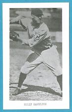 Billy Hamilton Vintage Baseball Postcard With Name on Front GRN