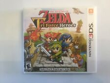 Replacement Case (NO GAME) The Legend Of Zelda Tri Force Heroes - Nintendo 3DS