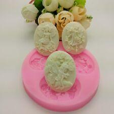 3D Silikon Engel Mädchen Silikon Form Backen Dekorieren Werkzeug Bakeware