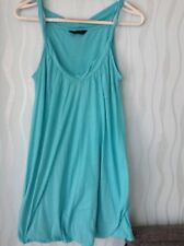 Miss Selfrige sleeveless blue summer dress / cover up / tunic dress size 10 💕
