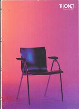 Thonet Programm S 570    Gebrüder Thonet  Stuhl Stühle Prospekt Design 1092-7.5