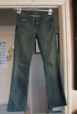 "Fabulous 7 For All Mankind Bootcut Blue Jeans 26"" Waist"
