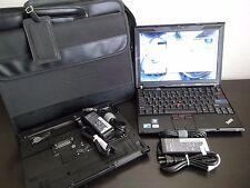 Lenovo Thinkpad X201 i5 M 540 2.53GHz 4GB 320GB WIN 7 PRO - very NICE ! BUNDLE