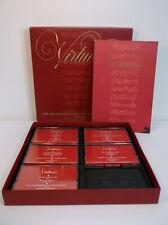 Virtuosi Heifetz Casals Milstein Szigeti 5 CASSETTE TAPES BOX SET w/book EX