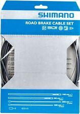 Shimano Road PTFE Brake Cable / Grey Housing Set NIB