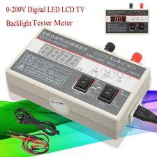 0-200V Digital LED LCD TV Backlight Tester Meter Strip Lamp Bead Repair Tool Set