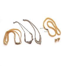 COLLECTION OF VINTAGE COSTUME NECKLACES & EARRINGS - PRIV EST SALE LOT 20