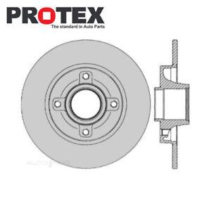 Rear Brake Rotor PAIR FOR Peugeot 207 307 Citroen C4 00-On DR12543