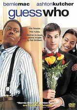 Guess Who ~ Ashton Kutcher Bernie Mac ~ DVD WS with Slipcover ~ FREE Shipping