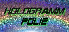 Hologramm Folie Sticker Aufkleber Holofolie Rainbow Regenbogen Glitter 20x20cm